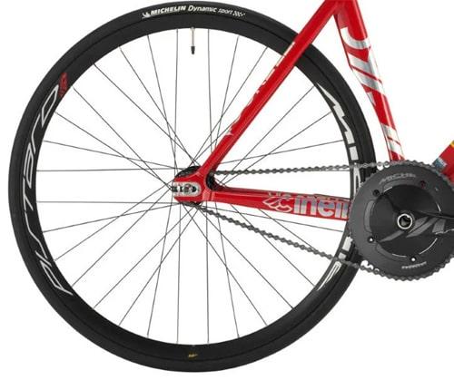 bicicleta piñón fijo cadena