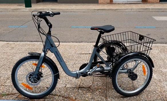 bicicleta eléctrica 3 ruedas Monty