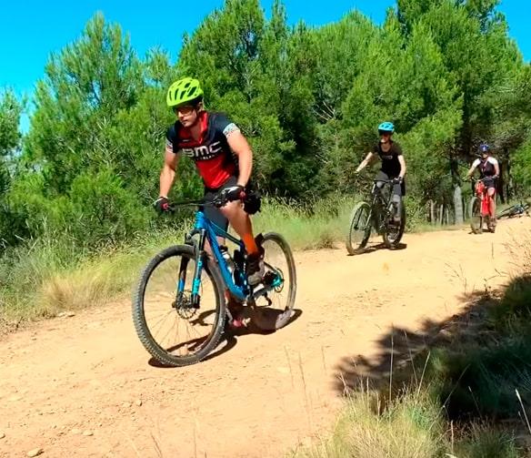 bici montaña hombre