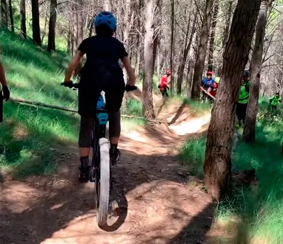 bicicleta montaña para mujer