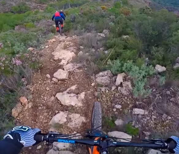 técnicas de descenso en bicicleta