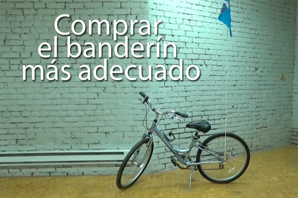 comprar banderin para bicicleta infantil